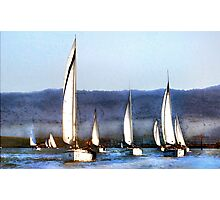 Together We Sail Photographic Print