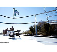 Boat Bow - Upper Lough Erne Photographic Print