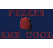 Doctor Who - Fezzes are cool #2 Photographic Print