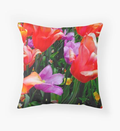 DONT YOU CRY, TONIGHT! Throw Pillow