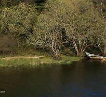 Upper Lough Erne Boat by alexandriaiona