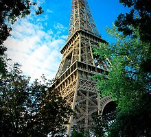 Paris. Eiffel tower by Val Ritter