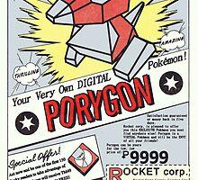 Porygon: The Digital Pokémon! by purplepixel