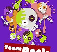 Splatfest Team Rock v.1 by KumoriDragon
