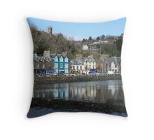 Tobermory (aka Balamory)  Throw Pillow