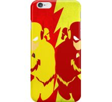 Reverse Flash VS Flash Minimalist iPhone Case/Skin