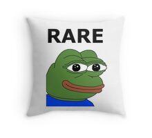Ultra RARE pepe Throw Pillow