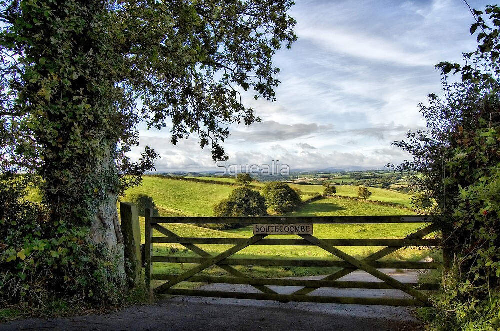 Southcoombe, Nr. Crediton, Devon by Squealia