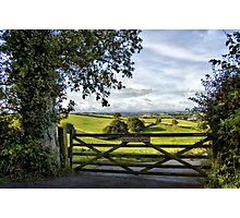 Southcoombe, Nr. Crediton, Devon Photographic Print