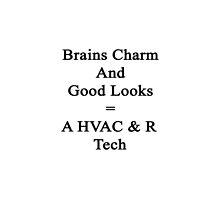 Brains Charm And Good Looks Equals A HVAC & R Tech  by supernova23