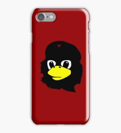 Linux tux Penguin Che guevara guerilla iPhone Case/Skin