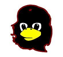 Linux tux Penguin Che guevara guerilla Photographic Print