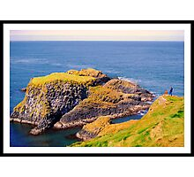 Spectacular glimpse of Carrick Island Photographic Print