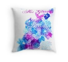 Glory in the Highest Throw Pillow