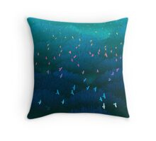 Amazonian Flight Throw Pillow