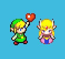 Zelda & Link by galegshop