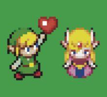 Zelda & Link Kids Tee
