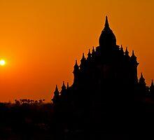 Orange Sky At Dawn by Gina Ruttle  (Whalegeek)