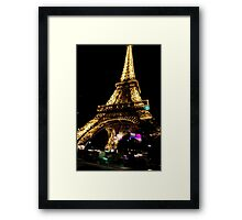 Paris. Eiffel tower Framed Print