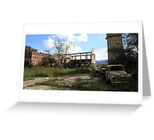 Ruins and Rust Greeting Card
