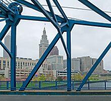 Cleveland CityScape 2010-02 by Bob  Perkoski