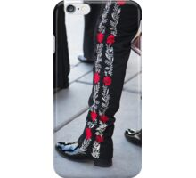 Mariachi Pants. Tucson, Arizona, USA. iPhone Case/Skin