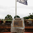 Vietnam War Memorial, Tamworth NSW Anzac Day 2010 by Craig Stronner
