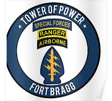 Special Forces Tower of Power Poster