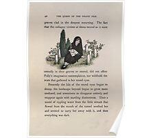 The Queen of Pirate Isle Bret Harte, Edmund Evans, Kate Greenaway 1886 0046 Graveyard Poster