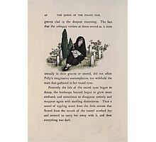 The Queen of Pirate Isle Bret Harte, Edmund Evans, Kate Greenaway 1886 0046 Graveyard Photographic Print