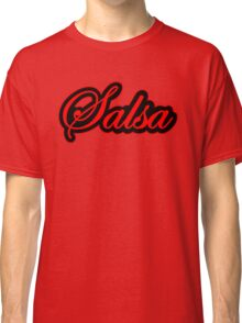 Salsa Vintage Red Classic T-Shirt