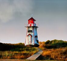 The Light at Covehead Harbour by RC deWinter