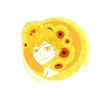 Hinata Shouyou - Sunflowers Photographic Print