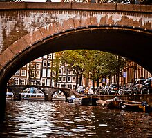 Amsterdam Canals by Val Ritter