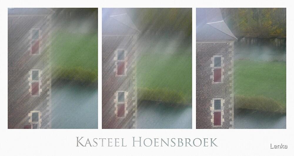 Kasteel Hoensbroek (triptych) by Lenka