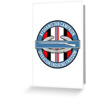 Operation Enduring Freedom Greeting Card
