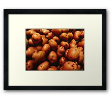 You Say Potato... Framed Print