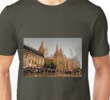 Melbourne in the Rain Unisex T-Shirt