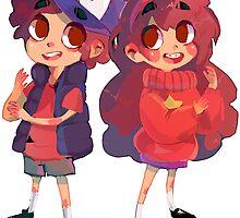 Mystery Twins! by highjinkx