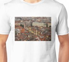 Red Roofs of Europe - Nice, France, French Riviera Unisex T-Shirt
