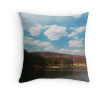 Parker Dam in Spring Throw Pillow