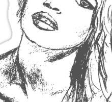 brigitte bardot Sticker