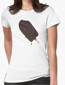 Lick it quick!  Womens Fitted T-Shirt