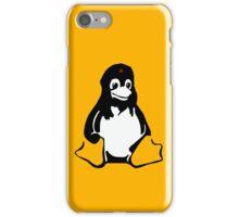 Linux tux Penguin Che  iPhone Case/Skin
