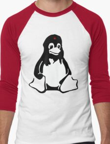 Linux tux Penguin Che  Men's Baseball ¾ T-Shirt