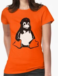 Linux tux Penguin Che  Womens Fitted T-Shirt