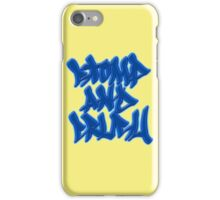Stomp and Crush - 2015 - Blue iPhone Case/Skin