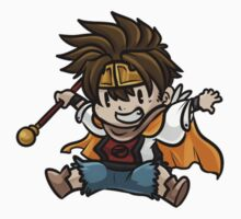 Saiyuki - Son Goku chibi - Fan Art by Sixelona