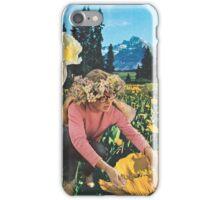 Rocky Mountain Flower Girl iPhone Case/Skin