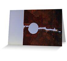 Keyhole Greeting Card